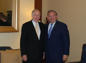 T. Boone Pickens & Senator Robert Menandez
